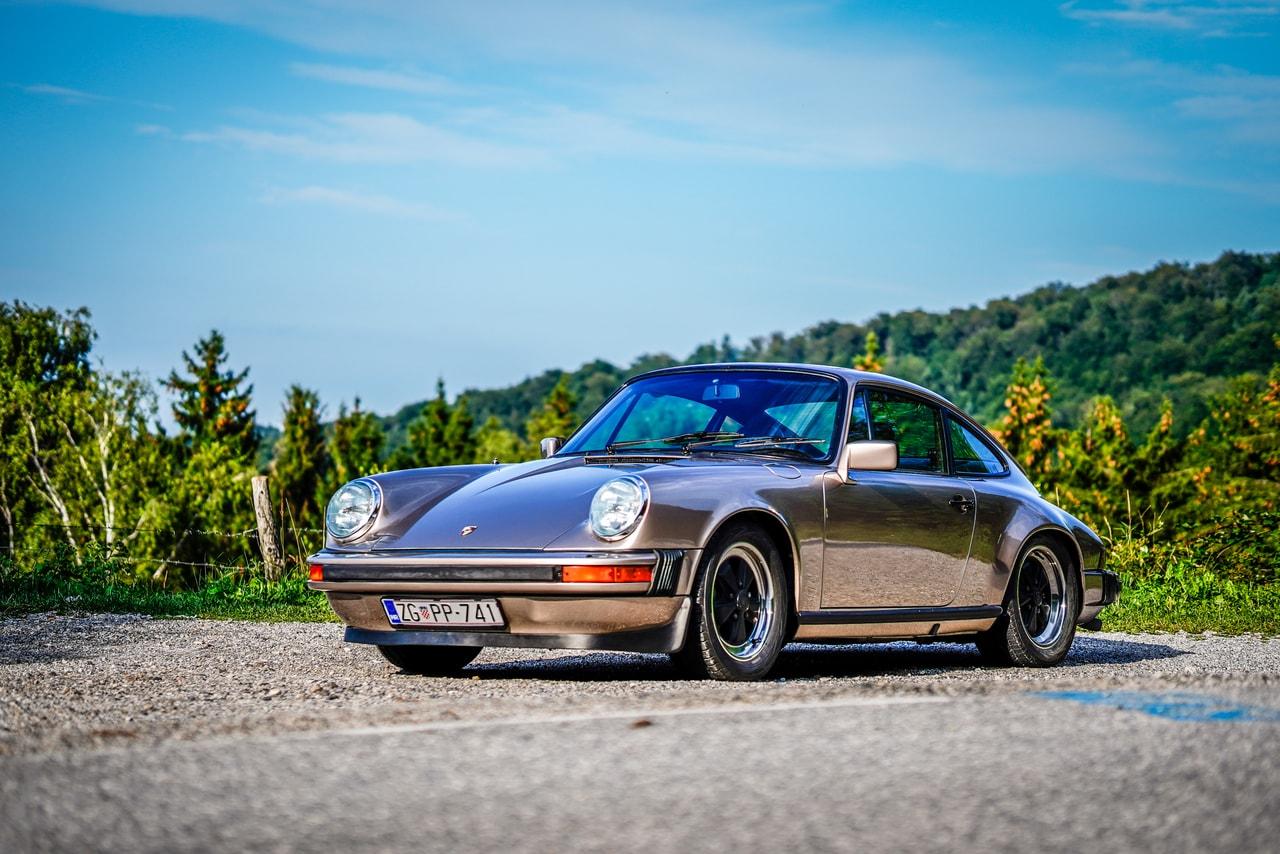 Automobilska fotografija Porsche 911 SC