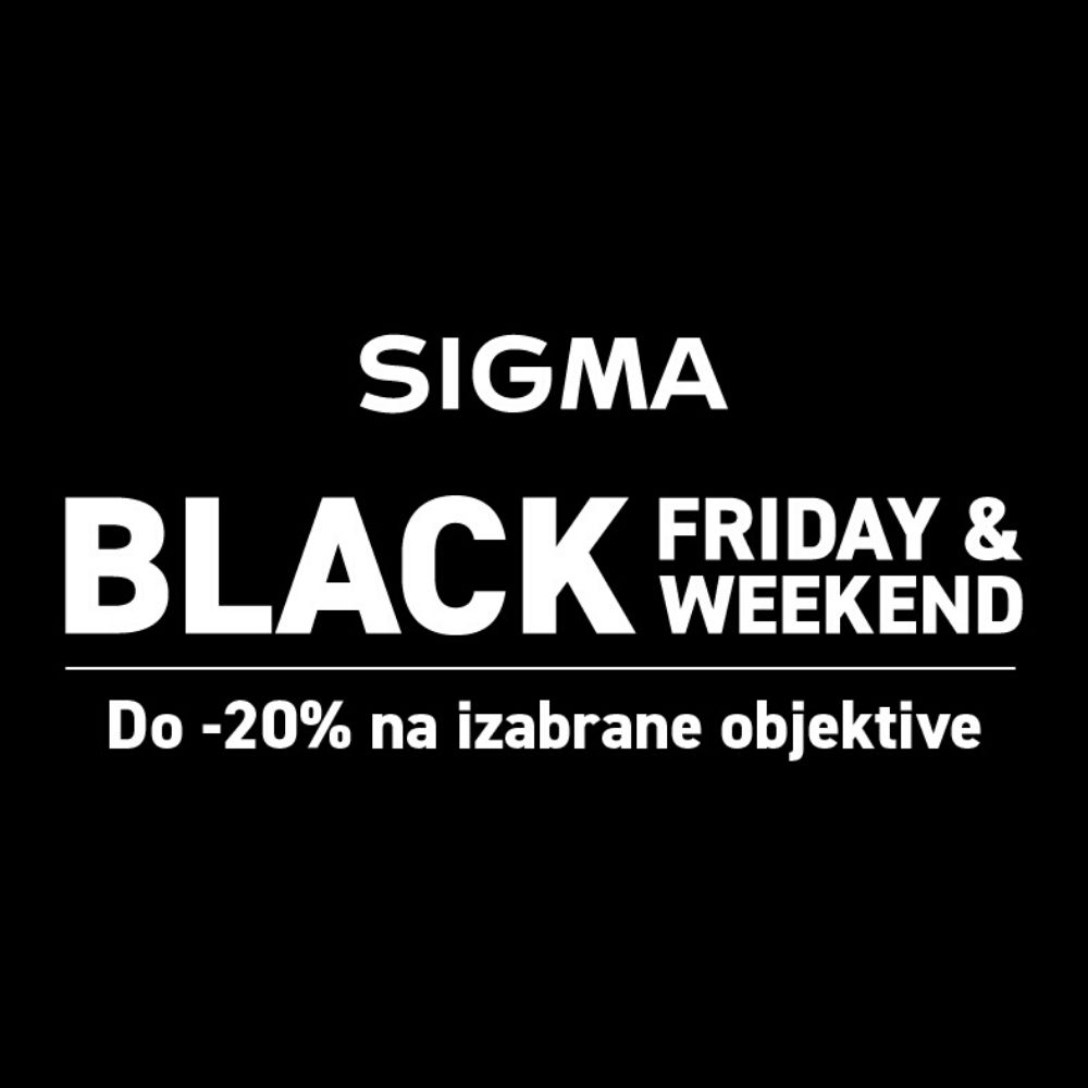 Black Friday SIGMA