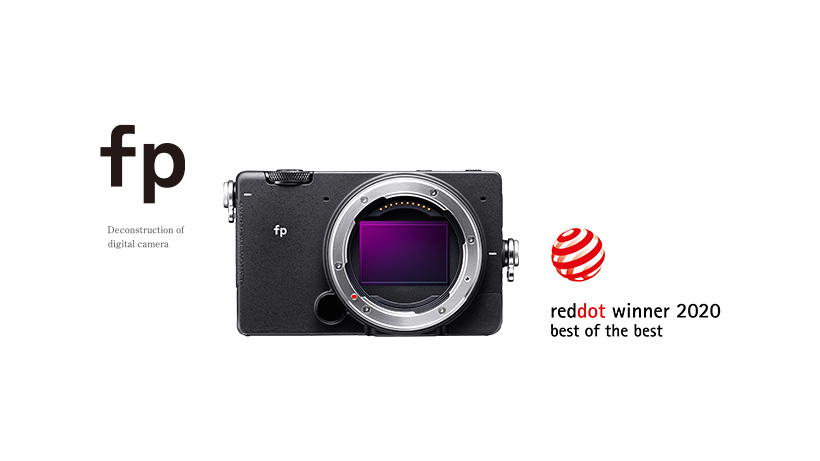 Red Dot Design Award SIGMA fp